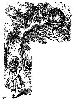 Alice in Wonderland & The Chesire Cat
