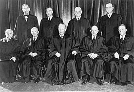 U.S. Supreme Court Warren Court 1953